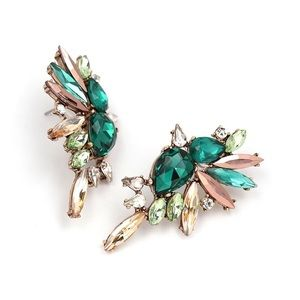• COMING SOON • Bird of Paradise Cluster Earring •